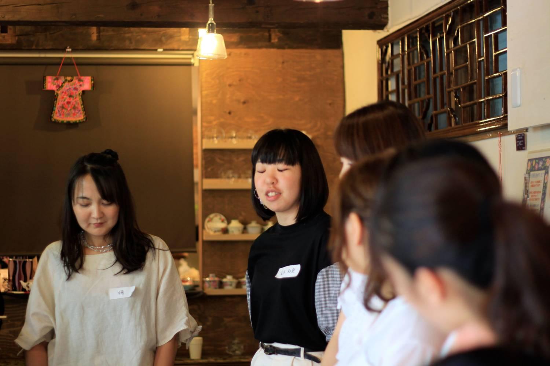 楠英恵さんと金子知愛さん