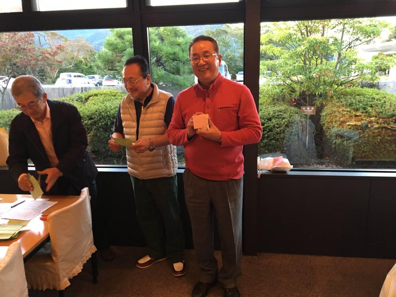 新潟からお越しの大嶋氏。おいしい日本酒をありがとうございます