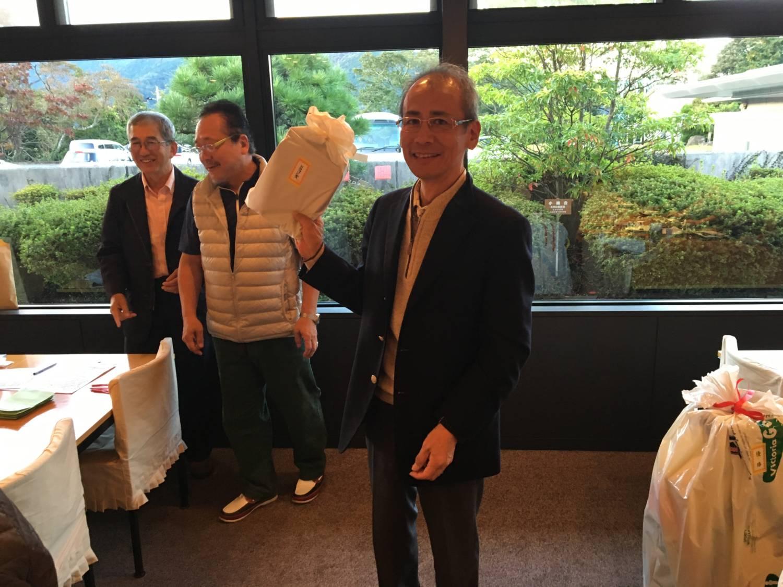 坪田先生。激写させていただきました
