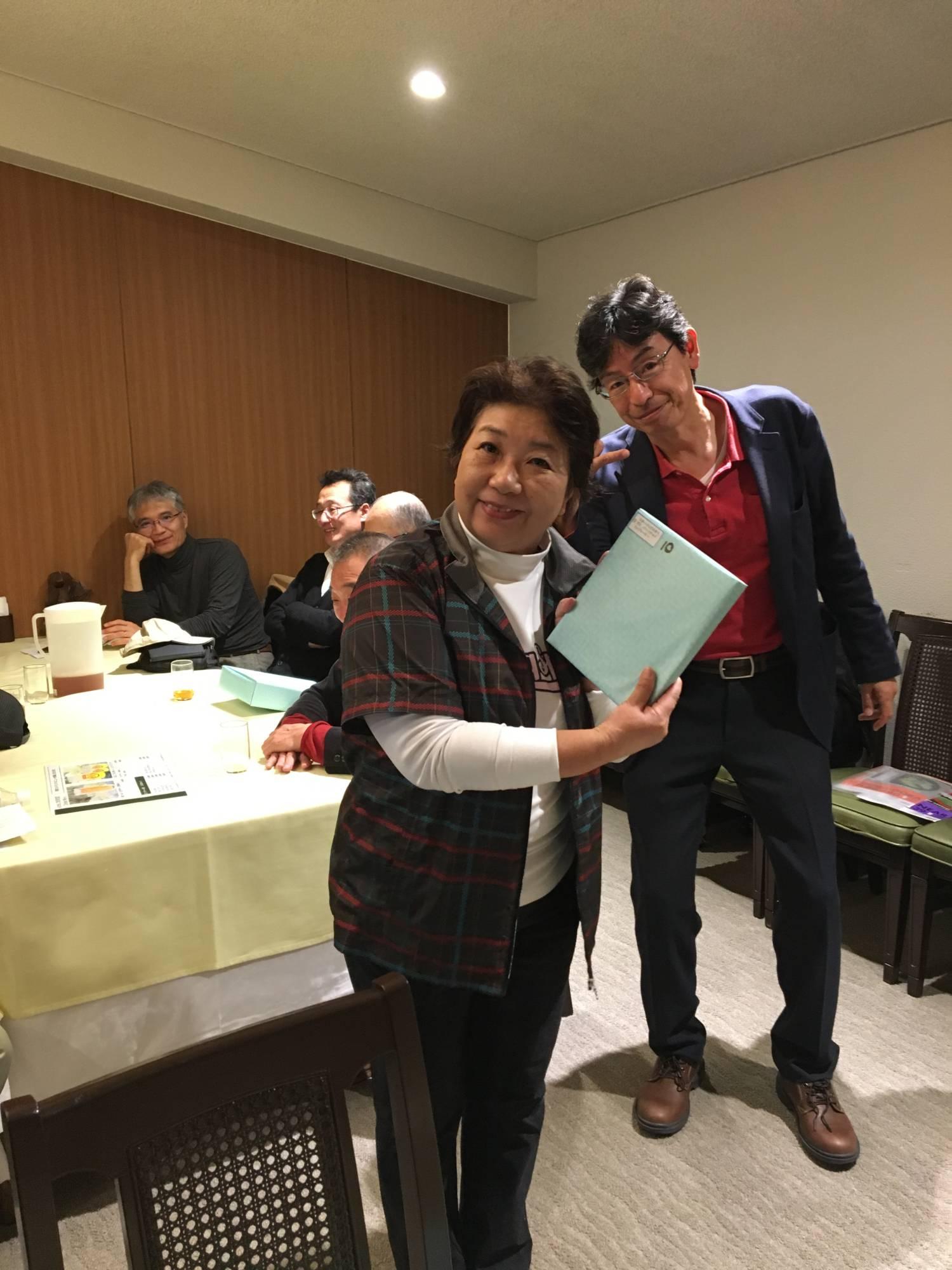 第10位吉成氏と幹事の山田氏