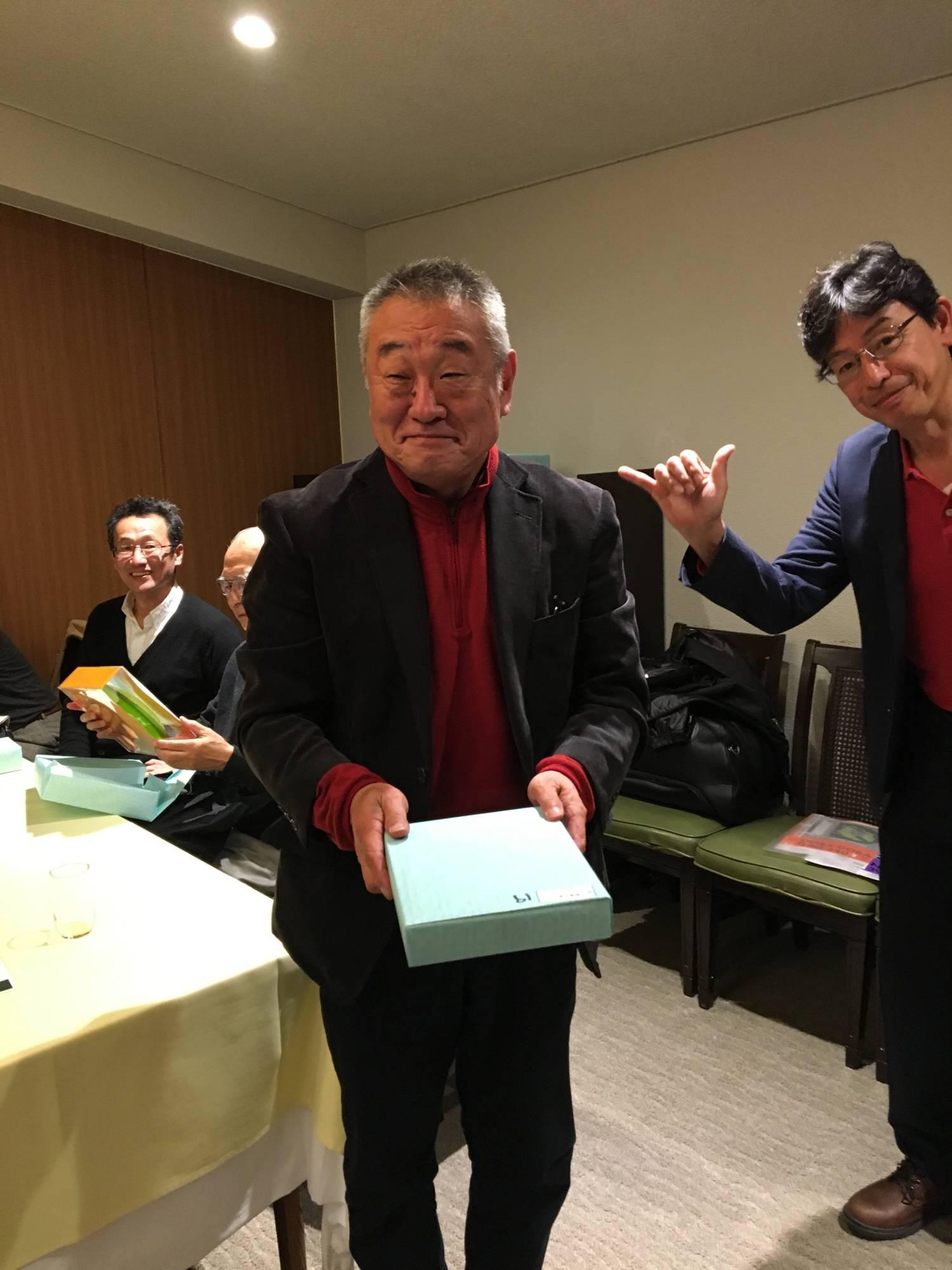 第19位太田氏と幹事の山田氏