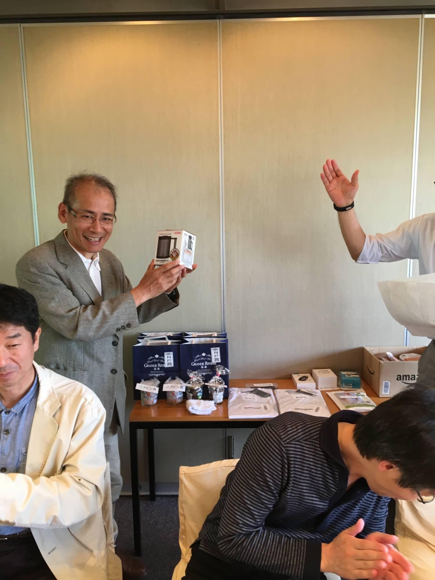10位賞 坪田先生