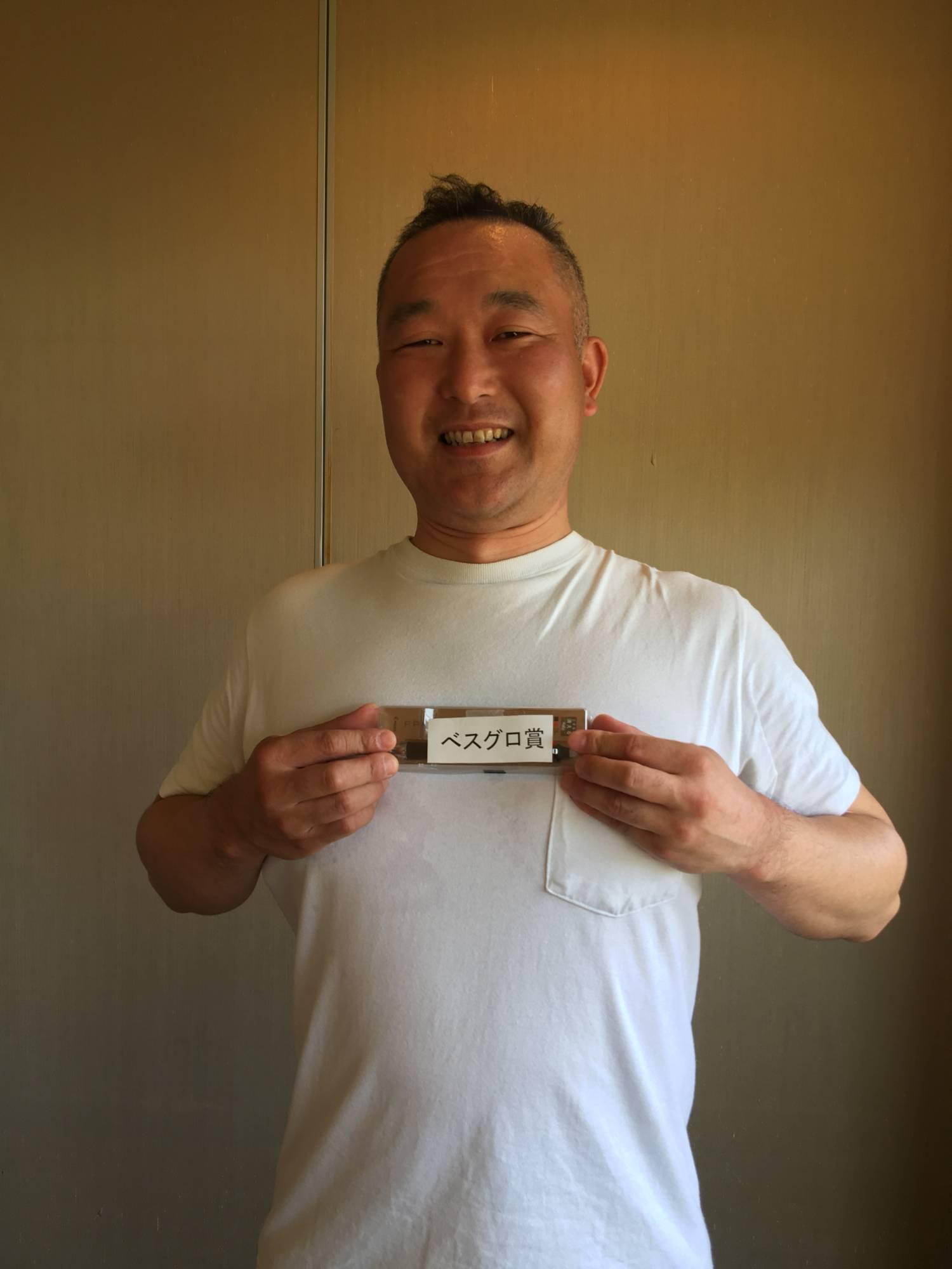 ベスグロ賞 藤田さん 消せるボールペン