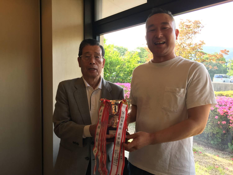 優勝の藤田さん
