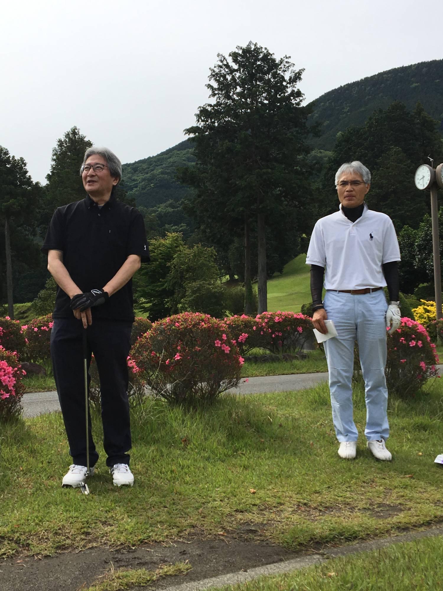 今回幹事をしてくださいました、金子さんと秀島さん。お疲れ様でした。