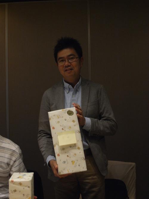 準優勝の長岡氏。初出場です。
