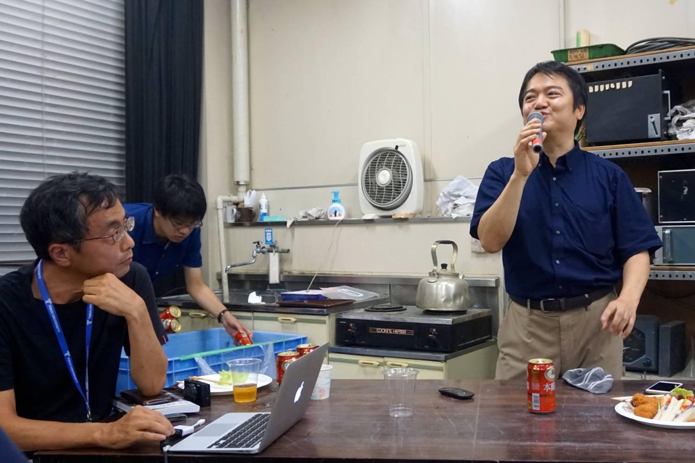 大宮司先生と渡邊先生