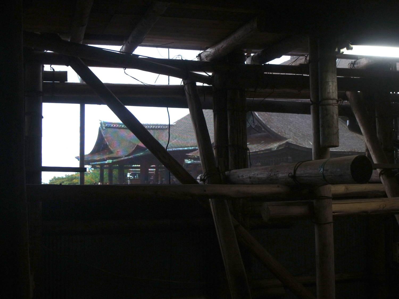 奥の院の礼堂からの眺め